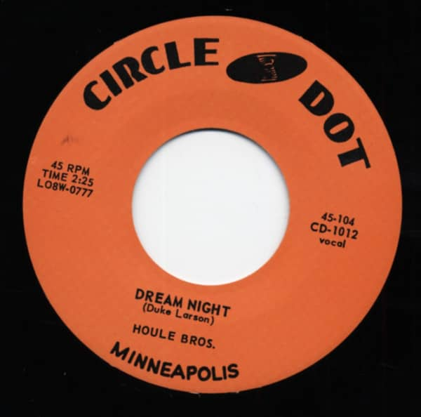 Dream Night - Sometimes I Feel Like Leaving Town (7inch, 45rpm)