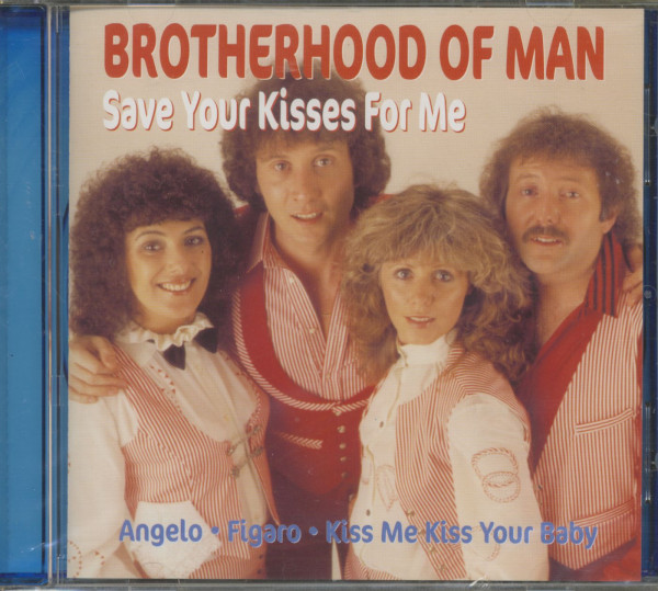 Save Your Kisses For Me (CD)