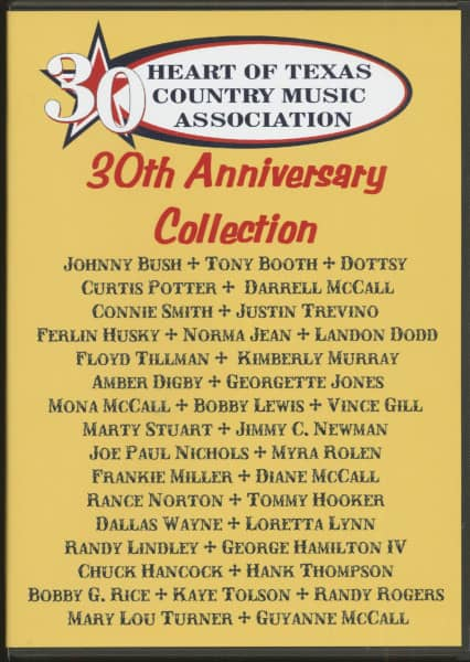 Heart Of Texas Country Music Association - 30th Anniversary Collection (3-CD)
