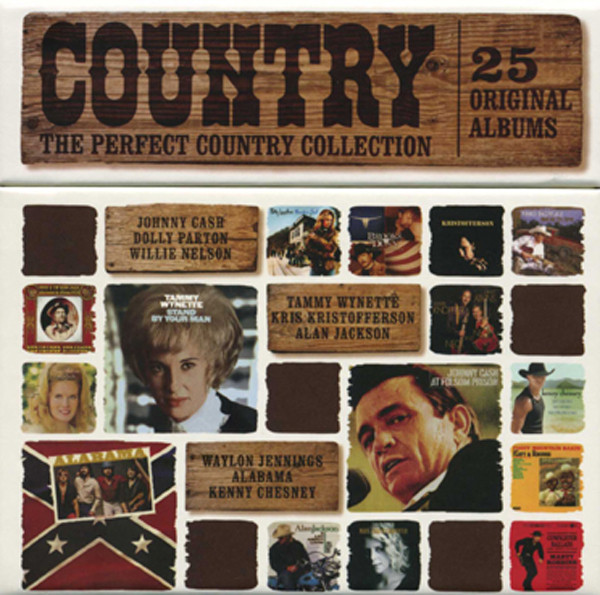 Country 1959-2004 - Perfect Collection(25-CD)