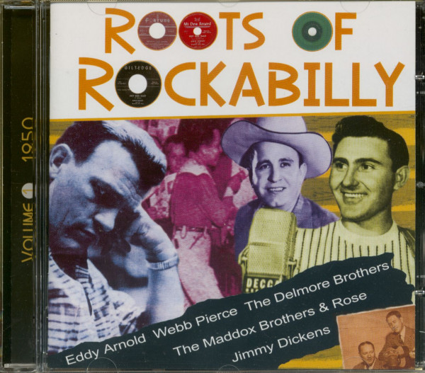 Roots Of Rockabilly Vol.1 1950 (CD)