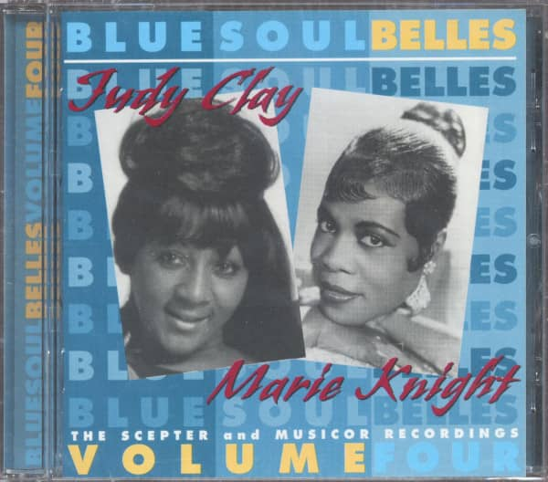 Blue Soul Belles Vol.4 - Marie Knight & Judy Clay (CD)