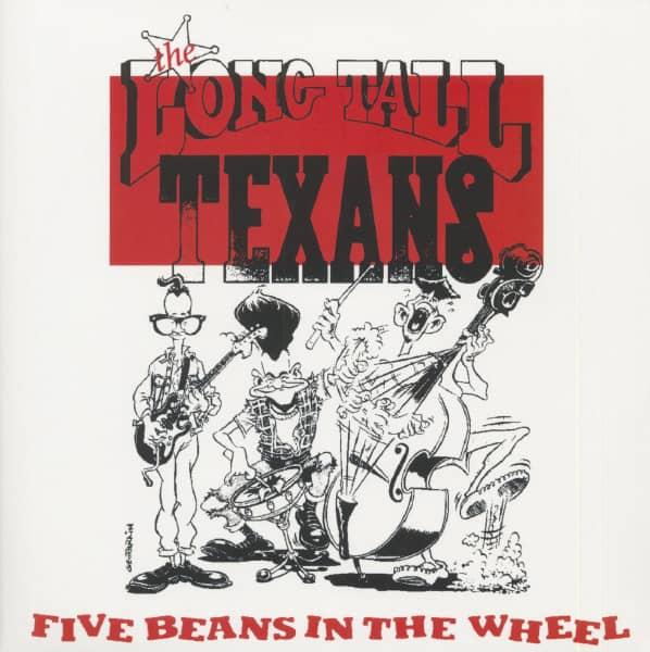 Five Beans In The Wheel (2-LP, Red Vinyl, Ltd.)