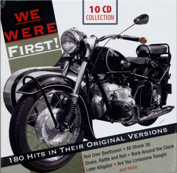 We Were First - 180 Hits in Their Original Versions (10-CD)