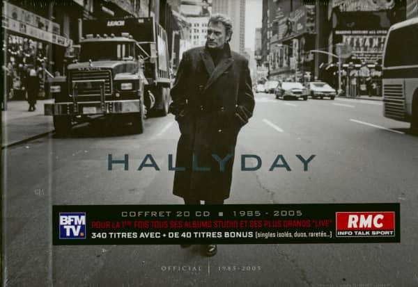 Hallyday 1985-2005 (20-CD Book)