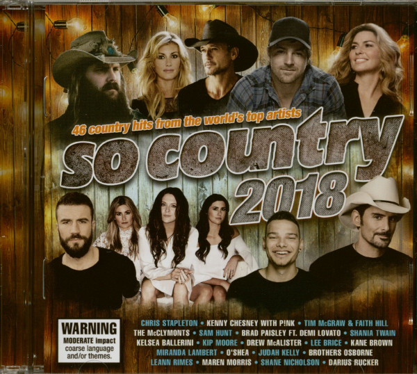 So Country 2018 (2-CD)