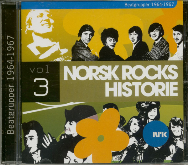 Norsk Rock Historie - Beat 1964-67 (CD)