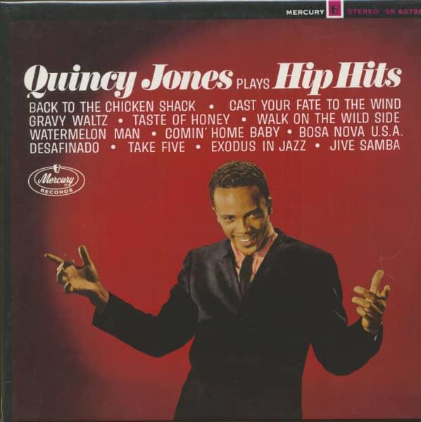Quincy Jones Plays Hip Hits (LP, 180g Vinyl)