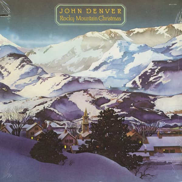 Rocky Mountain Christmas (LP, Cut-Out)