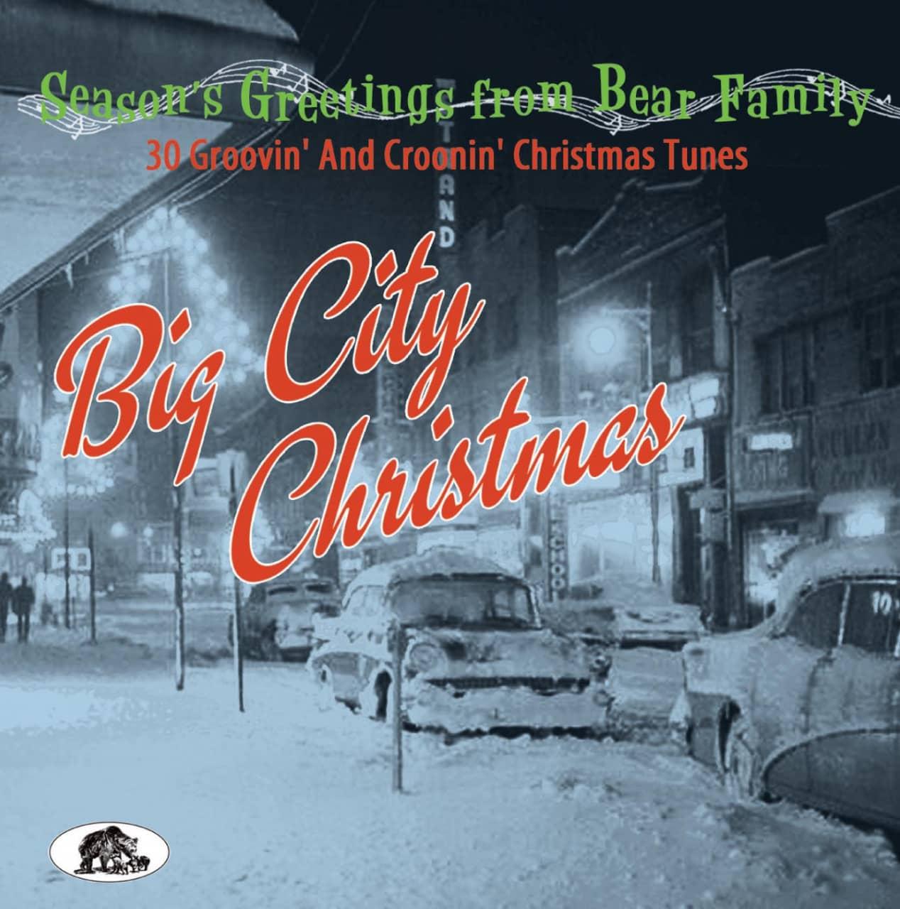 Various - Season´s Greetings - Big City Christmas - 30 Groovin´ And Croonin´ Christmas Tunes (CD)
