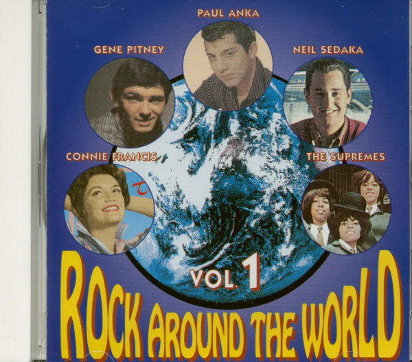 Rock Around The World Vol.1 (CD)