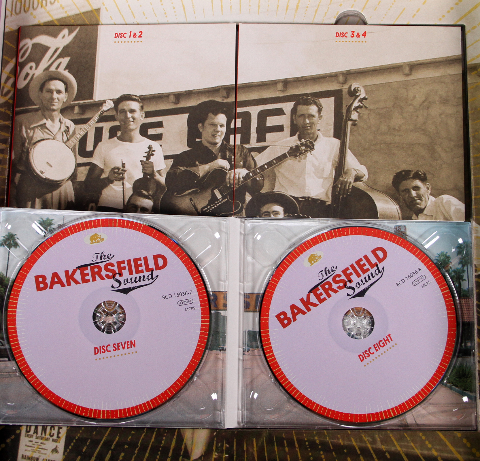 Various History Box Set The Bakersfield Sound Country