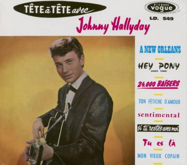 Tete A Tete Avec Johnny Hallyday (CD)