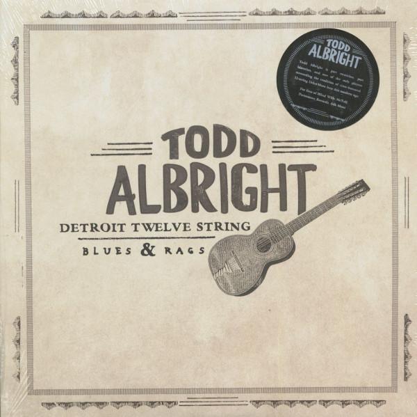Detroit Twelve String Blues And Rags (LP, 180g Vinyl)