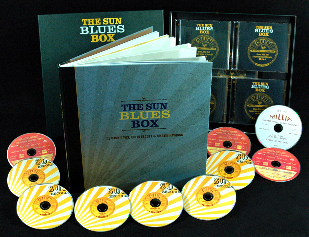 Various Sun Records Box Set Sun Blues Box 1950 1958 10