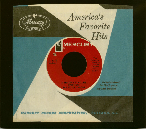 Mercury Singles (1966-1968) (CD)