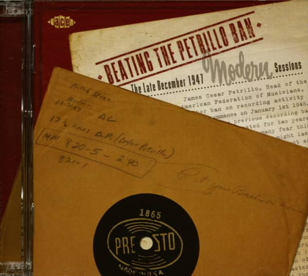 Beating The Petrillo Ban -The Late December 1947 Modern Sessions (2-CD)