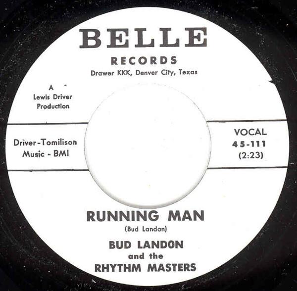 Running Man b-w Walk In The Sun 7inch, 45rpm