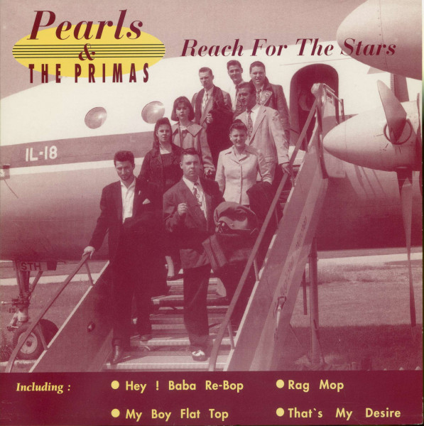 Reach For The Stars (7inch, 45rpm, PS, EP)