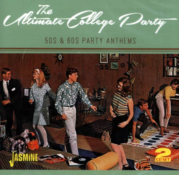 The Ultimate College Party - 50s & 60s Party Anthems (2-CD)