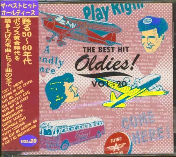 The Best Hit Oldies, Vol.20 (CD, Japan)