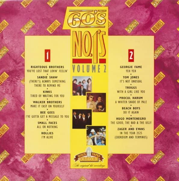 60's No.1's Vol.2 (LP)