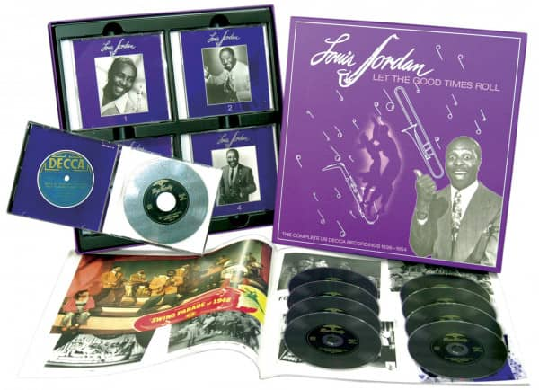 Let The Good Times Roll(1938-1954) (9-CD Deluxe Box Set)