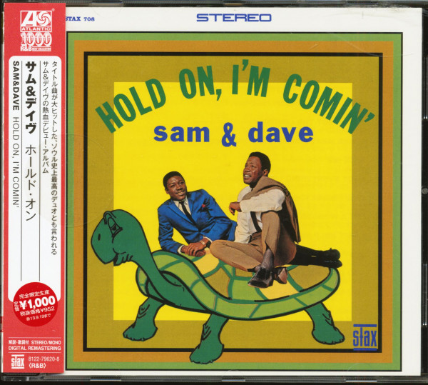 Hold On, I'm Comin' (CD, Japan)
