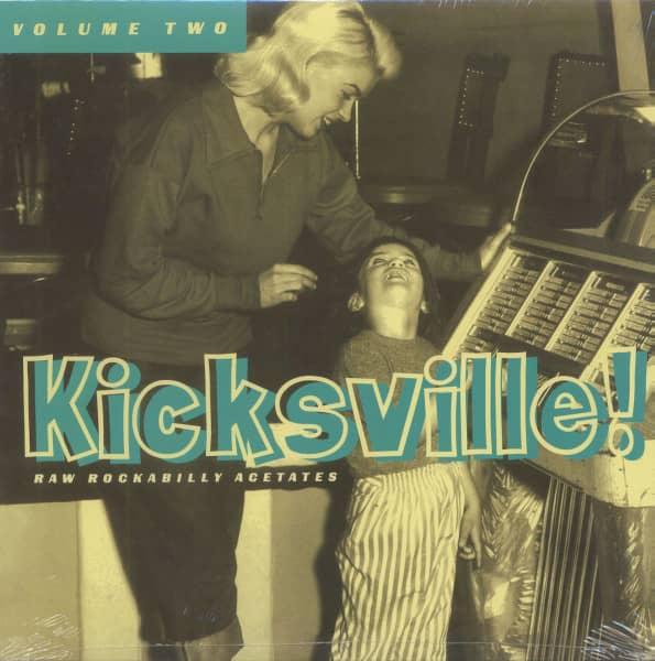 Kicksville Vol.2 - Raw Rockabilly Acetates (LP)