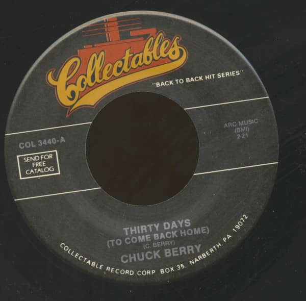 Thirty Days - No Money Down (7inch, 45rpm)