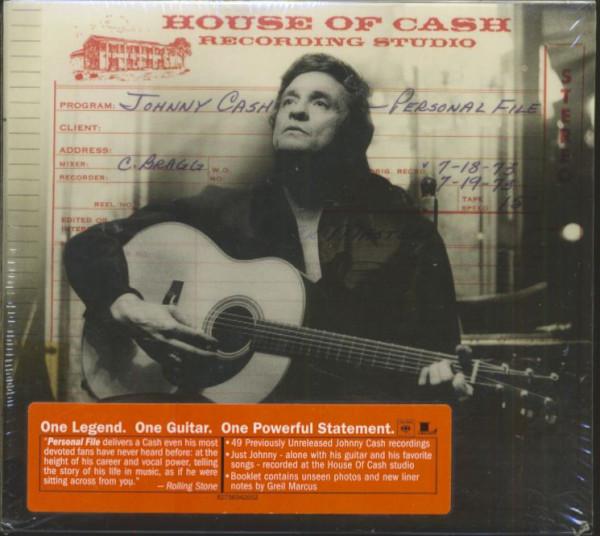 Personal File (2-CD, EU, 1st pressing)