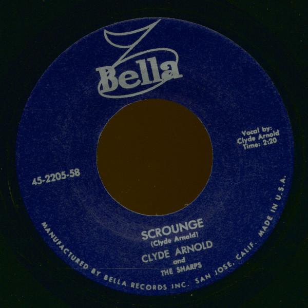 Scrounge - I've Got A Baby (7inch, 45rpm)