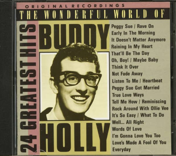 The Wonderful World Of Buddy Holly - 24 Greatest Hits (CD)
