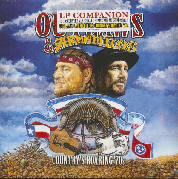Outlaws And Armadillos - Country's Roaring '70s (LP)