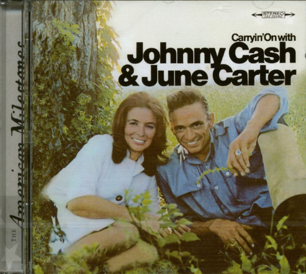 Carryin' On With Johnny Cash & June Carter (CD)