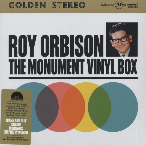 Monument Vinyl Box (4-LP 180g Vinyl-Box Set) Limited Edition
