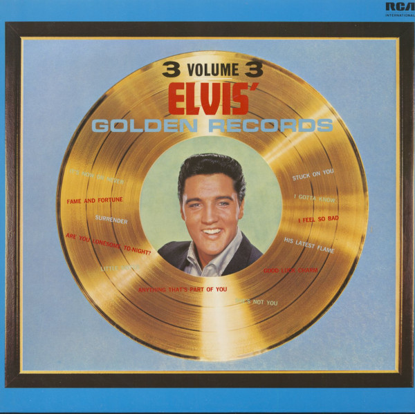 Elvis' Golden Records, Vol.3 (LP)