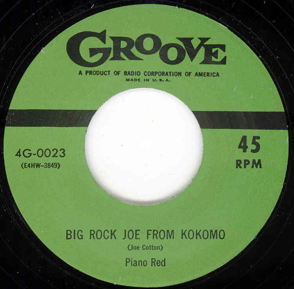 Big Rock Joe From Kokomo - I'm Nobody's.. 7inch, 45rpm