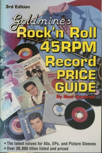 Goldmine's Rock'n Roll 45 RPM Record Price Guide 3rd Edition