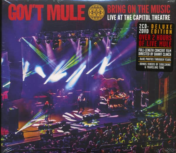 Bring On The Music - Live At The Capitol Theatre (2-CD & 2-DVD)