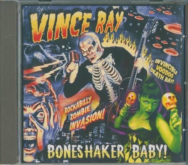 Boneshaker Baby (CD Album)