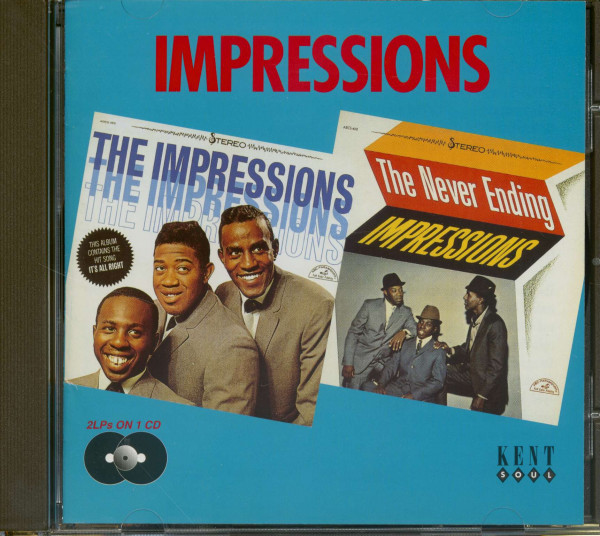 Impressions - Never Ending Impressions (CD)