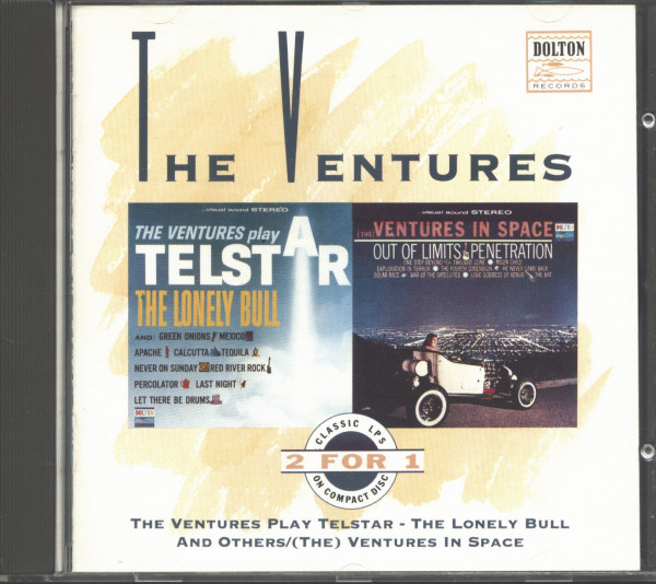 The Ventures Play Telstar - (The) Ventures In Space (CD)