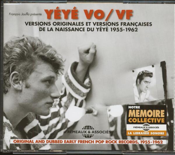 Yéyé VO-VF - Naissance du Yéyé 1955-1962 (3-CD)