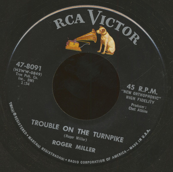 Trouble On The Turnpike - Hey Little Star (7inch, 45rpm, BC)