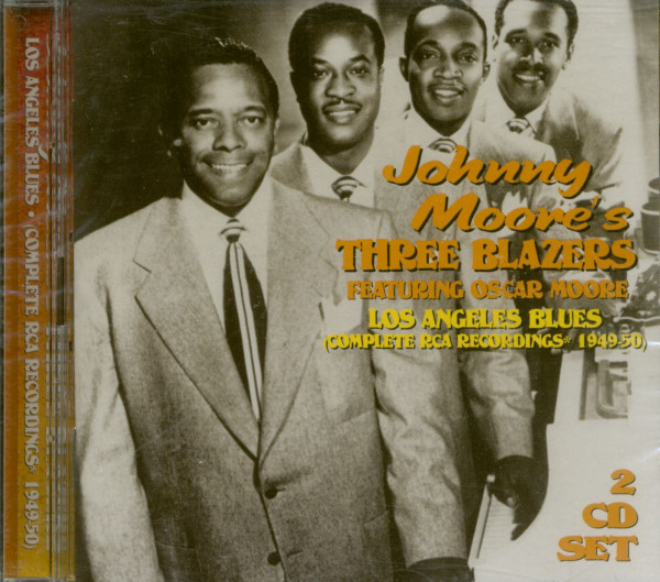 Johnny Moore's Three Blazers feat. Oscar Moore - Los Angeles Blues (2-CD)