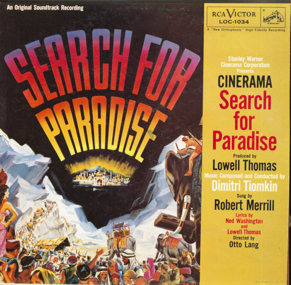 Search For Paradise - Soundtrack (LP)