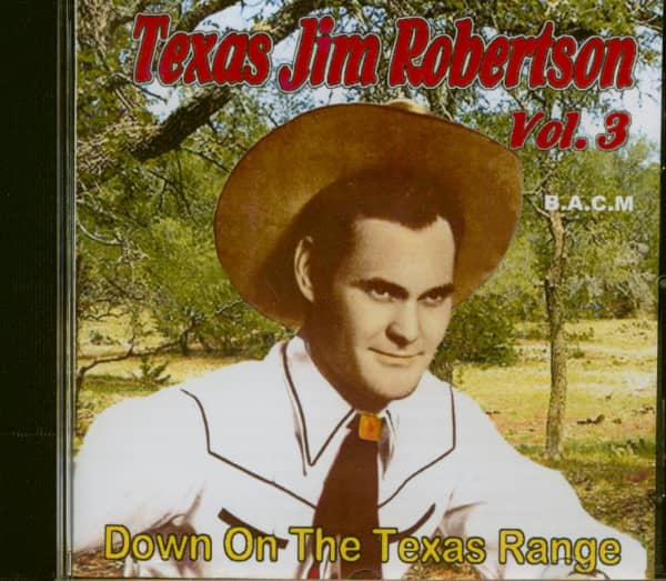 Down On The Texas Range Vol.3 (CD)