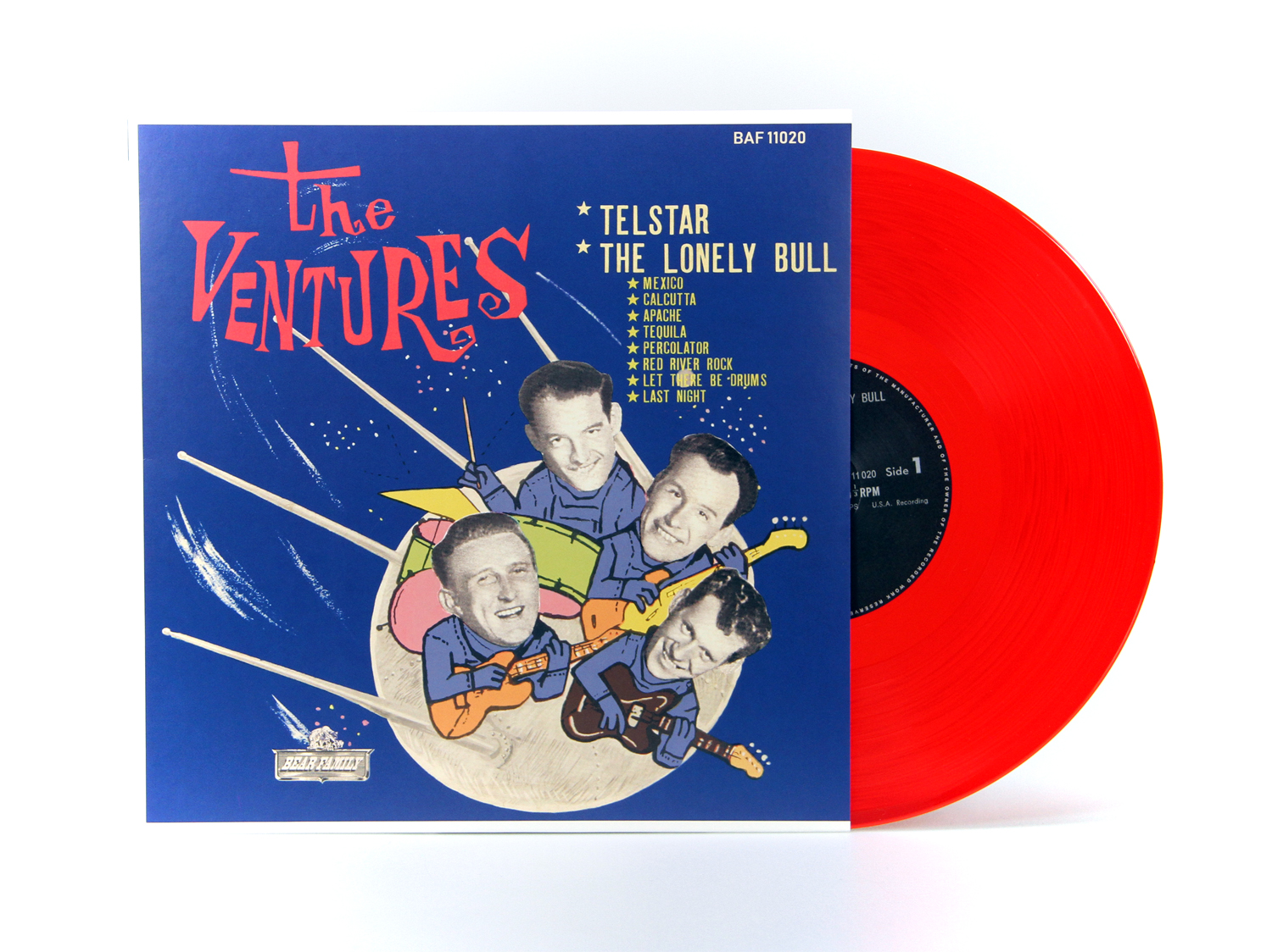 The Ventures Lp 10 Inch The Ventures Play Telstar The