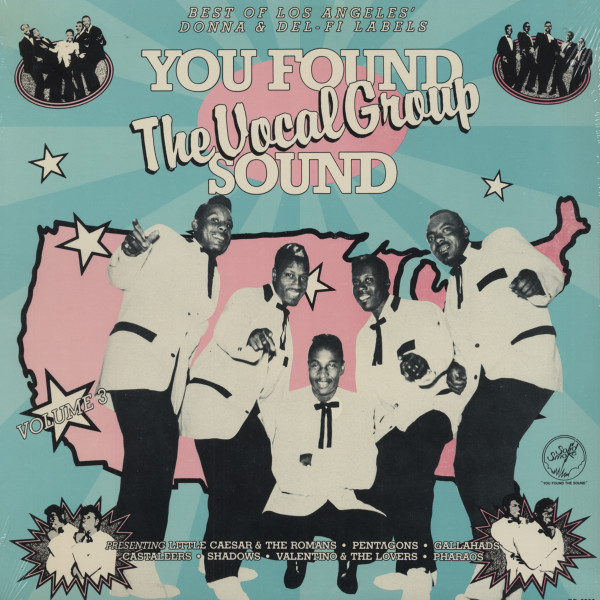 Best Of L.A's Donna & Del-Fi Labels - You Found The Vocal Group Sound Vol. 3